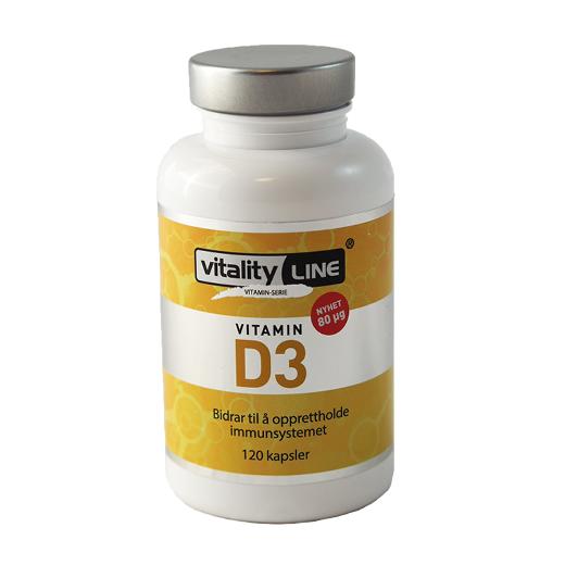 Vitality Line D3 80ug