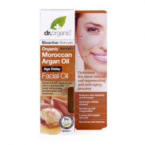 Dr. organic moroccan argan oil facial oil 30 ml
