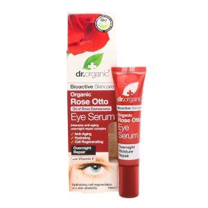 Dr. organic rose otto eye serum 15 ml