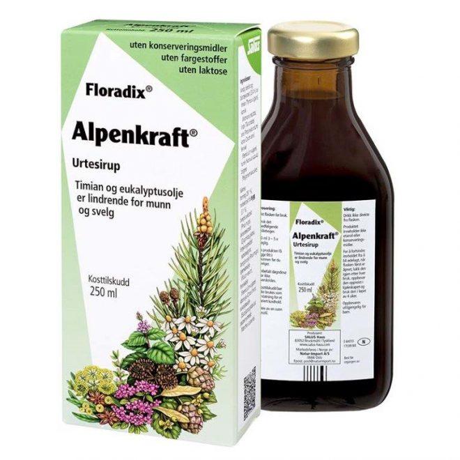 Floradix alpenkraft 250 ml