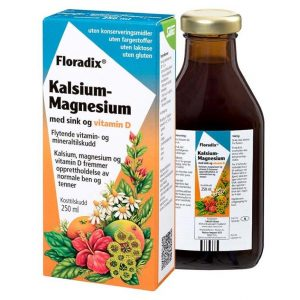 Floradix calcium-magnesium-zink 250ml