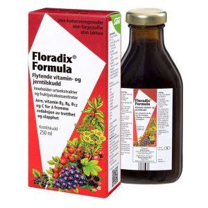 Floradix formula vitamin- og jernekstrakt 250 ml