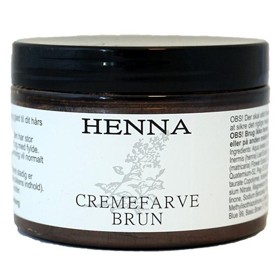 Henna kremfarge brun 140 ml