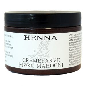 Henna kremfarge mørk mahogni 140 ml
