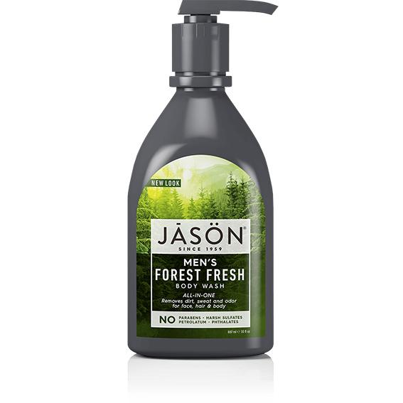 Jason bodywash for men with pump 887 ml