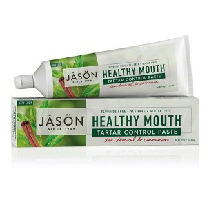 Jason healthy mouth tannkrem fluorfri 125 gr