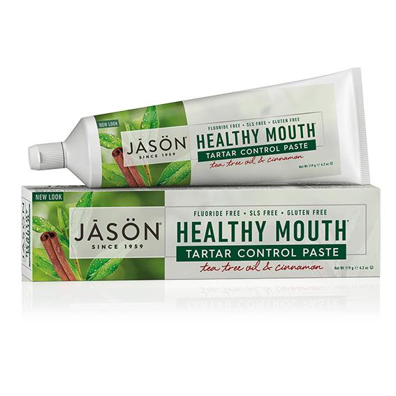 Jason healthy mouth tannkrem fluorfri 125 gr