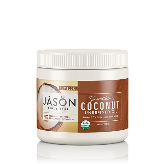 Jason kokosnøttolje for hår, hud & negler 443ml