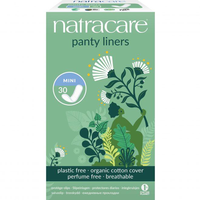 Natracare 3050 cotton panty liners mini 30 stk