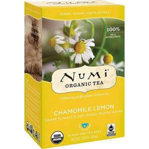Numi chamomile lemon