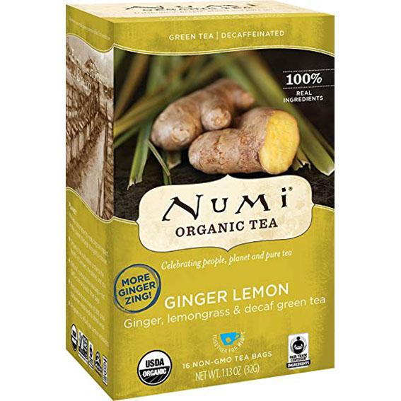 Numi ginger lemon
