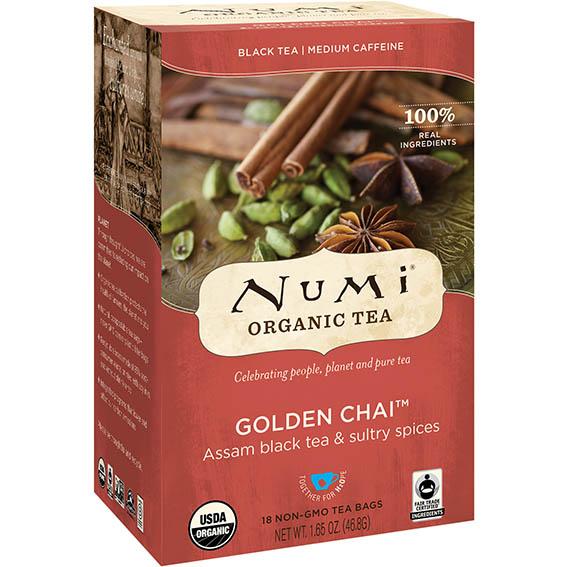 Numi golden chai