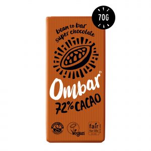 Ombar probiotic dark 72% 70 g