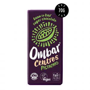 Ombar pistachio centres 70 g