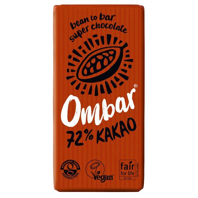 Ombar 72% kakao 35 g