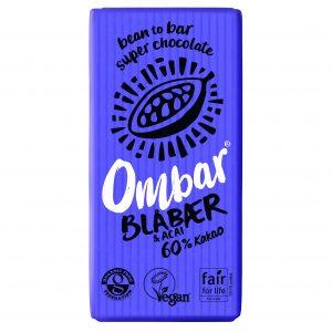 Ombar blueberry & acai 35 g
