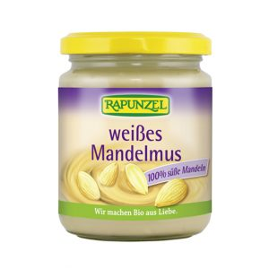 Rapunzel mandelsmør hvitt 250 gr