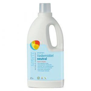 Sonett flytende vaskemiddel nøytral 2 liter