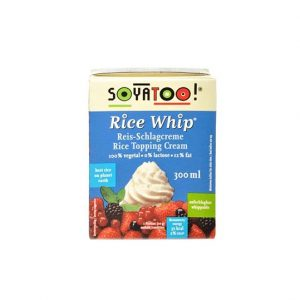 Soyatoo rice krem topping 300 ml