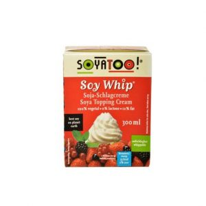 Soyatoo soya krem topping 300 ml