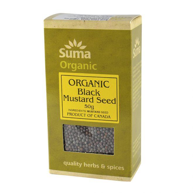 Suma organic black mustard seed 50 gr
