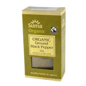 Suma organic ground black pepper 25 gr