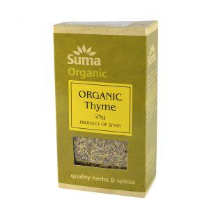 Suma organic thyme 25 gr