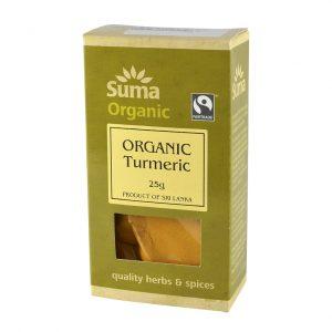 Suma organic turmeric 25 gr