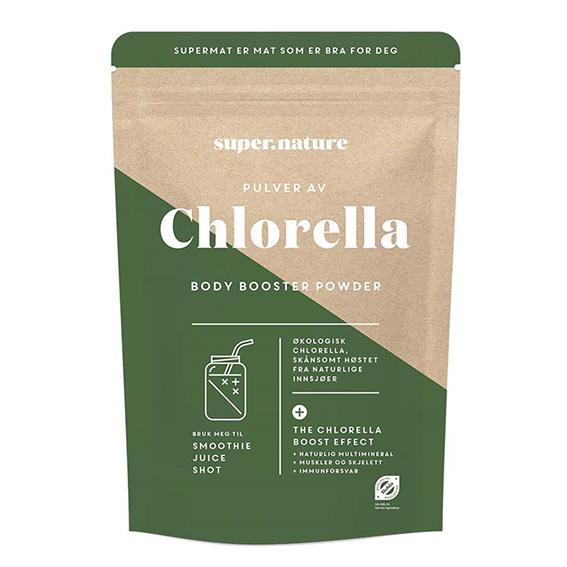 Supernature chlorella pulver
