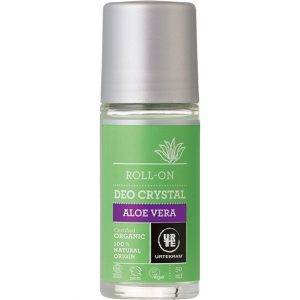 Urtekram deo crystal aloe vera roll on 50 ml