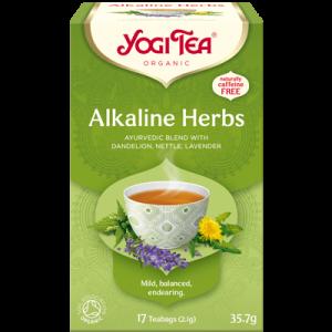 Yogi Tea alkaline herbs 17 poser