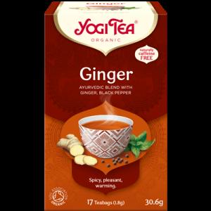 Yogi Tea ginger 17 poser