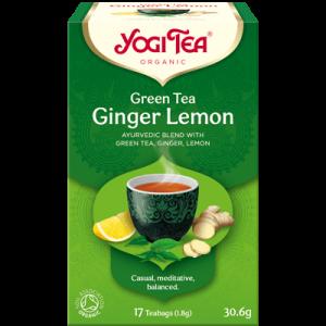Yogi Tea green tea ginger lemon 17 poser