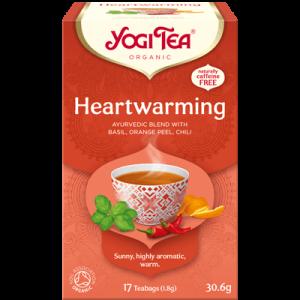 Yogi Tea heartwarming 17 poser