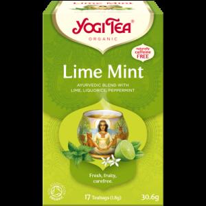 Yogi Tea lime mint 17 poser