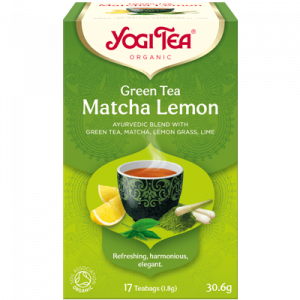 Yogi Tea matcha lemon 17 poser