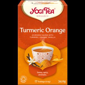 Yogi Tea turmeric orange 17 poser