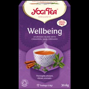 Yogi Tea wellbeing 17 poser