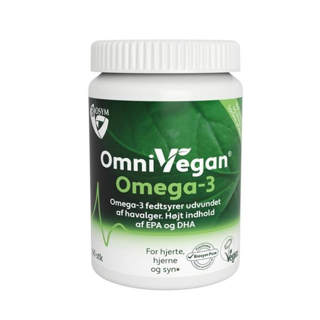 OmniVegan Omega-3, 60 Vegkapsler