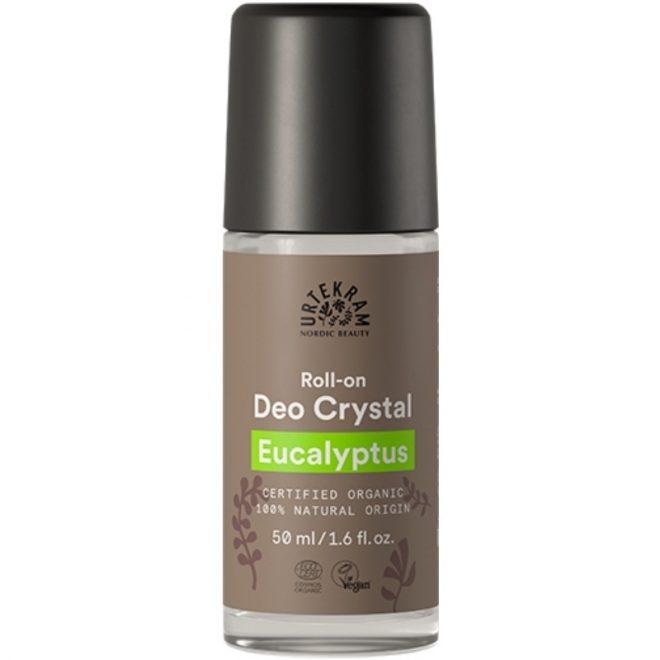 Urtekram deodoranr roll on eucalyptus 50ml økologisk