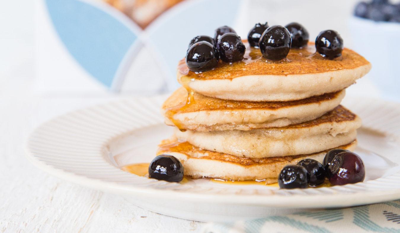 Amerikanske pannekaker - fri for egg, gluten og melk