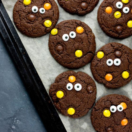 Glutenfri Halloween monsterkjeks