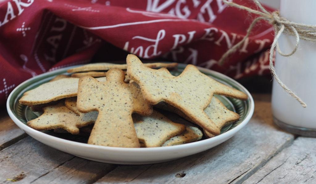 Pepperkaker uten gluten og sukker