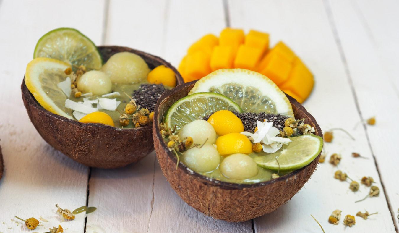 Tropisk smoothie bowl