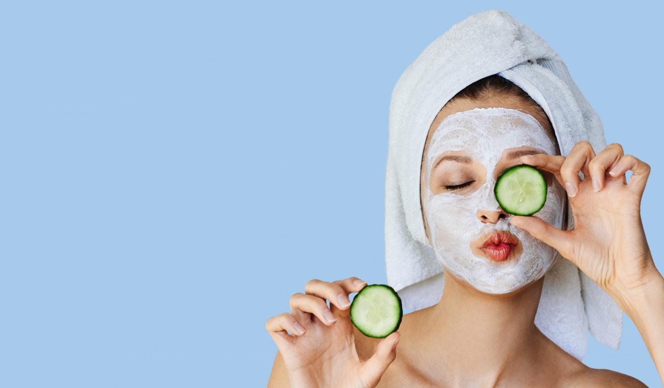 4 «gjør-det-selv» ansiktsmasker