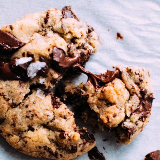 Deilige sjokoladekjeks uten raffinert sukker