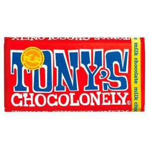 Tony's Chocolonely melkesjokolade 180 g