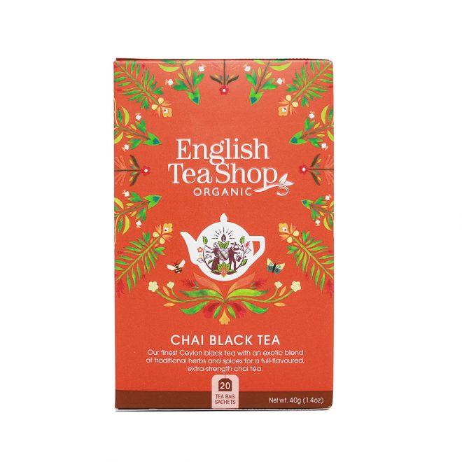 English Tea Shop chai black tea 20 poser