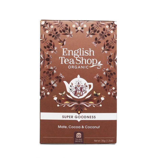English Tea Shop mate, kakao & kokosnøtt 20 poser