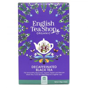 English Tea Shop decaffeinated black tea 20 poser